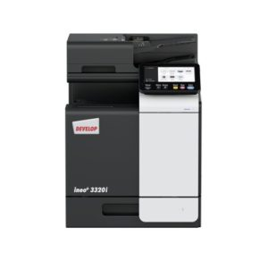 Develop ineo+ 3320i studio picture Front no Energy Star